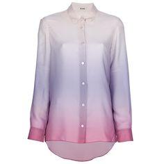 Acne Pat Degrade Top / Cherry   Seasons Clothing