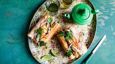 BBQ pork breakfast rolls recipe   Banh mi   SBS Food