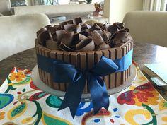 #Bolo de chocolate com ganache