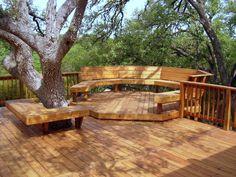 Backyard landscape designs, Backyard patio designs, Backyard pool designs, Backyard deck designs and Backyard design ideas Backyard Patio, Backyard Landscaping, Patio Decks, Deck Benches, Backyard Ideas, Landscaping Ideas, Wooden Benches, Patio Bench, Backyard Seating