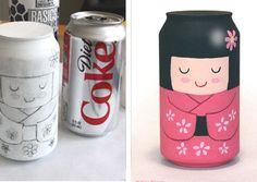 Ideas para reciclar latas, manualidades creativas 28