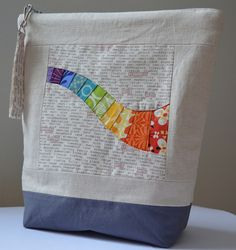 Mouthy Stitches Practice Pouch by jenjohnston, via Flickr