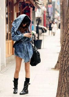 2e8bcd2ee4b Trench Coat Hoodie Denim Trench Coat