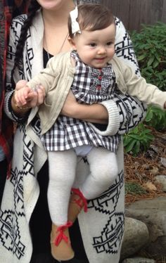 Unabashadly hipster mom with great ideas for baby girl fashions. We're totally referring to her when we dress your future daughter :)