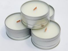100 Mini Tin Candle Party Favor Keepsake | Bridal Shower | Baby Shower |  Hand-poured with Love Bulk Candles, Tin Candles, Soy Wax Candles, Buttercream Cupcakes, Vanilla Buttercream, Shower Baby, Bridal Shower, Coconuts Beach