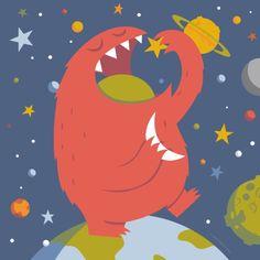 Star Eating Monster - Greg Abbott