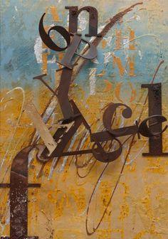 """Enrico Benetta, """"Sun, Sea...""""   Mixed Media on Canvas, cm 50x35"""