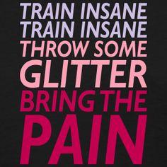 Insane Glitter Pain