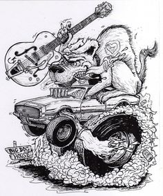 Rat Rod Coloring Pages Yahoo Image Search Results coloring