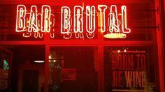Bar brutal  Barra de Ferro, 1. Barcelona