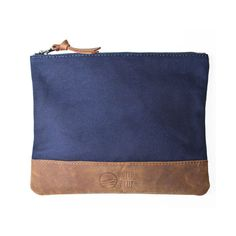 Canvas Pouch Large Navy