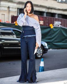 Tiffany Hsu @handinfire before @toryburch SS17 New York Fashion Week  by #chrissmart  www.csmartfx.com  #NYFW #SS17 #StreetStyle #Fashion #FashionWeek #newyorkcity #nyfashionweek #moda #mode #ootd #fashionlook #womensfashion #beauty #nyc #nyfwSS17 #street #womenswear #chic #style