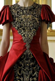 Gorgeous Red ANd Black Combination. Alexander McQueen