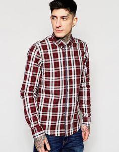 Image 1 ofScotch & Soda Shirt In Multicolour Twill