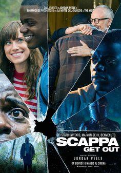 Scappa - Get out: manifesto italiano del film al cinema dal 18 Maggio. Trama e trailer: http://www.ecodelcinema.com/scappa-get-out-trama-trailer.htm