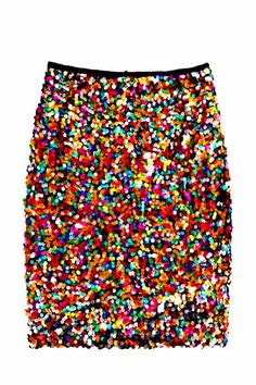 confetti sequin skirt #holiday #bloom
