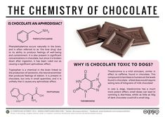 With Valentine's Day looming, it seemed an appropriate time to look into the chemistry of chocolate for the latest food chemistry graphic. In particular, here we focus on the two frequently r…