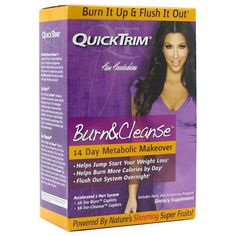 QuickTrim QuickTrim Burn  Cleanse *** Click on the image for additional details.Note:It is affiliate link to Amazon.