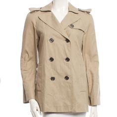 "Selling this ""Burberry London Military Jacket"" in my Poshmark closet! My username is: theachloe. #shopmycloset #poshmark #fashion #shopping #style #forsale #Burberry #Jackets & Coats"