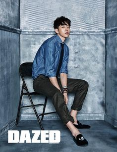 StyleKorea — Nam Joo Hyuk for Dazed & Confused Korea February. Korean Male Models, Asian Male Model, Korean Men, Korean Actors, Korean Dramas, Nam Joo Hyuk Cute, Jong Hyuk, Nam Joohyuk, Lee Sung Kyung