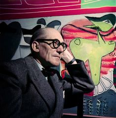 1 | Ultra Rare Photos Of Le Corbusier In Color | Co.Design: business + innovation + design
