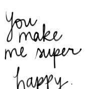 Lycklig med dig💚