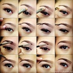 How to make your eyebrows fuller | one two steps to fill your ...