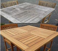 Cleaning Amp Sealing Outdoor Teak Furniture Casa Mia