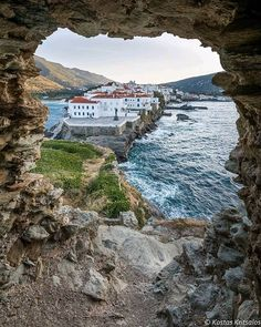 Location: Andros | Cyclades | Greece Photo: @kritsalos www.dailytraveller.gr Follow @the_daily_traveller & tag #the_daily_traveller Check my accounts @vsiras & @bestgreekhotels #reasonstovisitgreece #greecelover_gr #travel_greece #cyclades_islands #greecestagram #gf_greece #colorsofgreece #kings_greece #topgreecephoto #athensvoice #loves_greece_ #igersgreece #loves_greece #welovegreece_ #greekislands #discovergreece #igers_greece #ig_greece #greek_panorama #andros #cyclades #wu_greece #inst Andros Greece, Athens Greece, Santorini Villas, Myconos, Time Photography, Greece Islands, Exotic Places, Greece Travel, Day Trip