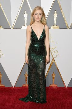 Oscars 2016: Best Dressed at the 88th Academy Awards - Saorise Ronan-Wmag
