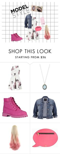 """""""Pink"""" by besh22 ❤ liked on Polyvore featuring Cameo, Armenta, Timberland, maurices, Skinnydip, Victoria's Secret, StreetStyle, modelstyle, holidaystyle and yesstyle"""