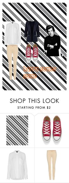 """""""Harry Styles Style"""" by niallersprincess4321 on Polyvore featuring Darice, Converse, Topshop and 7 For All Mankind"""