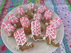 cowgirl baby shower    http://modernbabyshowers.blogspot.com