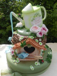 Sweet garden - Cake by Orietta Basso