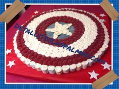 Resultado de imagen para pastel de chuches superheroes