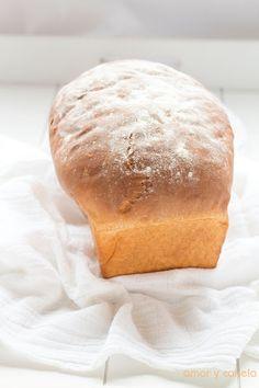 Sueños de amor y canela: Pan de molde extratierno Pan Sin Gluten, Bread, Amor, The World, Bread Recipes, Postres, Puff Pastries, Breads, Sweet And Saltines