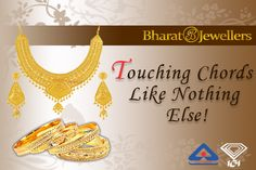 Hallmark #GoldJewellery By Bharat Jewellers! Available In Stunning Designs!