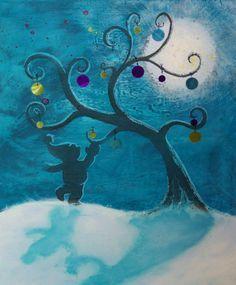 """Défi de Novembre """"Un Noël féérique"""", """"Décoration de mon arbre"""""""