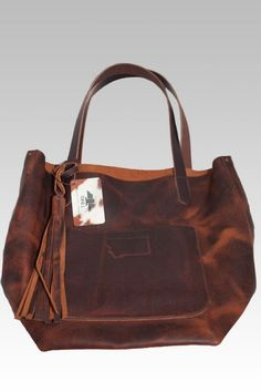 78af8f43dace Custom Leather Tote by T-Bird Leather made in Whitefish