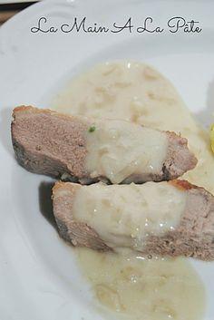 Filet de canard sauce aux échalotes -