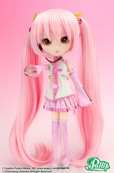 """Through the spring wind, the long-awaited, cherry blossom singing queen, """"Sakura Miku"""" has come to bring you spring!"""