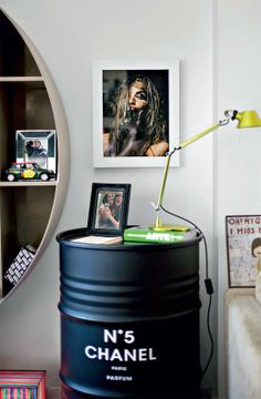 DIY Chanel Oil Drum