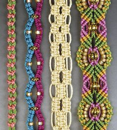 B151267 Micro-Macrame Jewelry 101