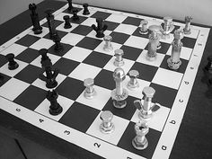 Dan Woods, Associate Publisher of MAKE tipped me off to Julia Suits' chess pieces made from nuts and bolts. She writes: Headed toward the light-bulb aisle in my local hardware store a few years ago...