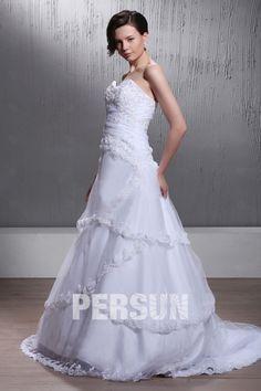 Incantevole Abito da Sposa con Seghettato (3AA0505)