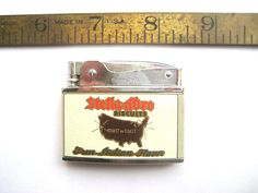 Golden Cookie Cigarette Lighter Mid Century Treat Stella D'Oro Biscuit True Italian Flavor Unfired Virgin Wick Rustic Advertising by BetterWythAge on Etsy