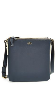 Vince+Camuto+'Small+Neve'+Leather+Crossbody+Bag+available+at+#Nordstrom