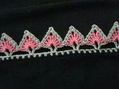 Oya Crochet Borders, Crochet Edging Patterns, Needle Lace, Barbie Dress, Crochet Fabric, Crochet Trim, Crochet Lace, Crochet Designs, Embroidery On Clothes