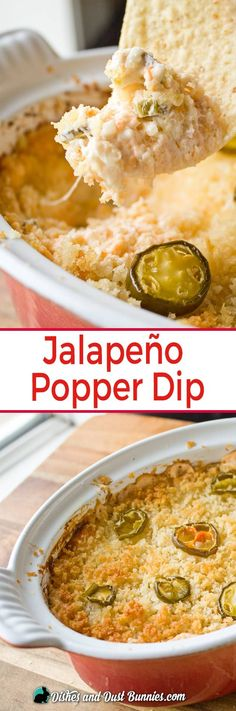 Jalapeno Popper Dip from dishesanddustbunn Dip Recipes, Great Recipes, Cooking Recipes, Favorite Recipes, Cookbook Recipes, Delicious Recipes, Easy Recipes, Recipies, Amazing Recipes