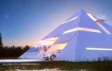 Futuristic Pyramid House Fit for an Ultra-Modern Pharaoh
